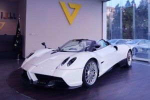 Pagani Huayra Roadster:  exemplaire 1/100 à vendre