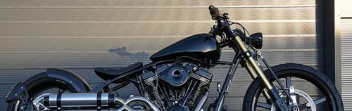 Une brutale Harley-Davidson Softail ? Non, une construction Metal Machines !