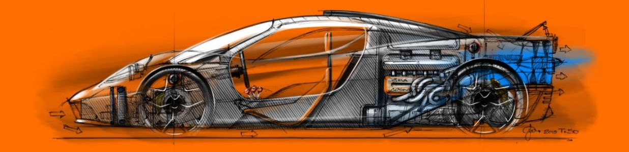 Gordon Murray partners with Racing Point F1 on T50 supercar!