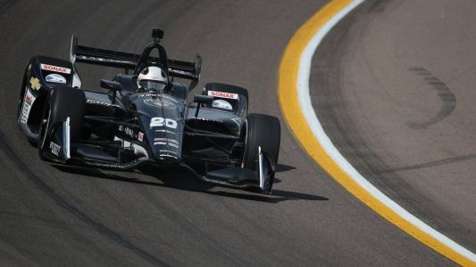 Carpenter nails it at Indy with brilliant run to pole