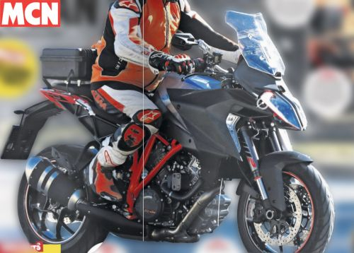 Photos volées de la future KTM Super Duke 1290 GT