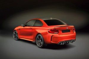 BMW M2 Competition:  production en juillet 2018
