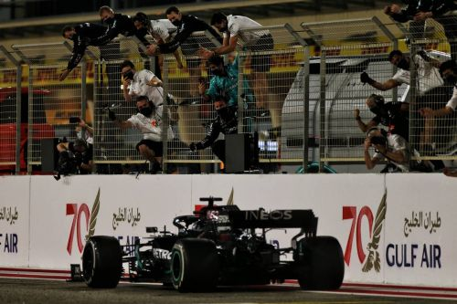 Hamilton: Grosjean accident shows 'this is a dangerous sport'