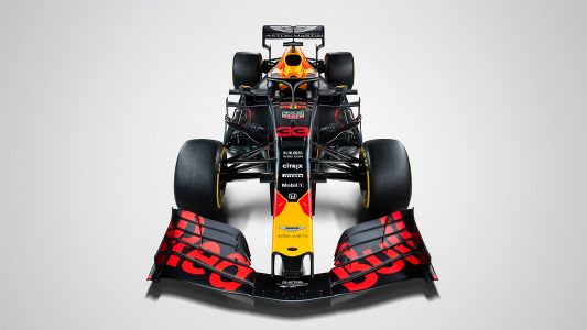 Red Bull RB15 retains original 'matte' racing colors