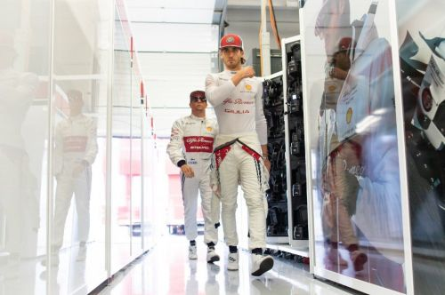 Vasseur denies Giovinazzi is under pressure at Alfa