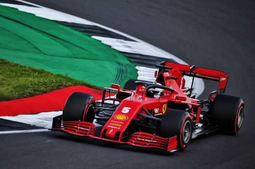 Vettel not suspicious of troubles piling up at Silverstone