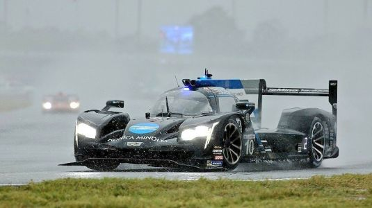 Alonso and WTR win rain-shortened Rolex 24