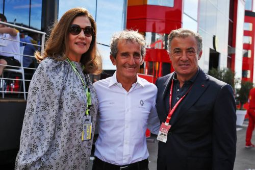 Paul Ricard's proud owner casts her towering figure