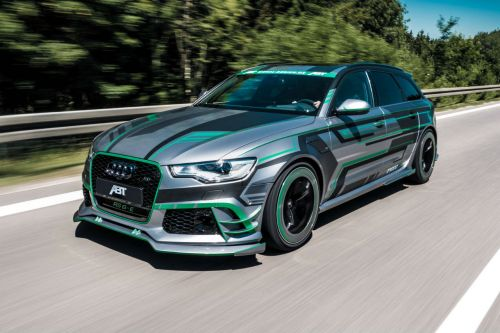 ABT RS6-E : une Audi break hybride de 1 018 ch