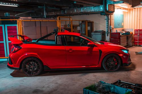 Honda Civic Type R pick-up:  la plus récréative des Type R !