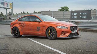 La Jaguar XE SV Project 8 bat son propre record