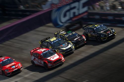 Global Rallycross, et de 3 pour Scott Speed !