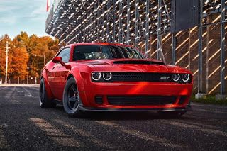 2018 Dodge Challenger SRT Demon, direction les concessionnaires