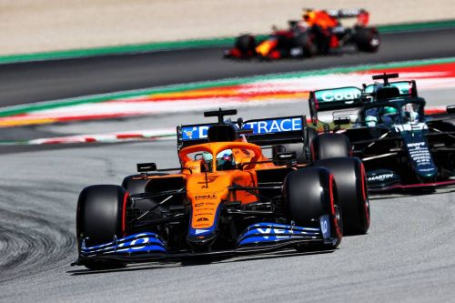 'Progress means positivity' for Ricciardo, as Norris fumes