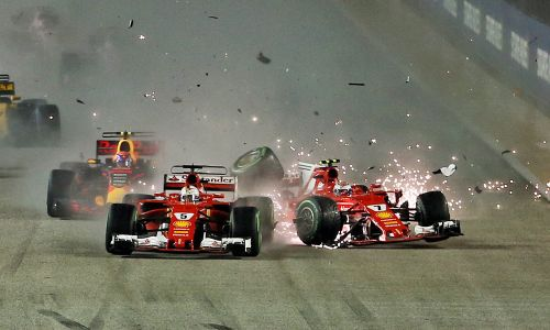 Vettel reminds us that 'anything can happen' in Singapore