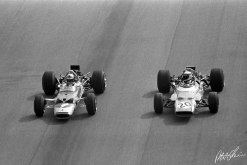 Stewart and Rindt prep for a mad dash showdown