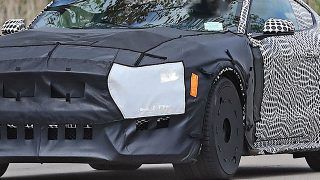 Spyshots:  Ford Mustang Shelby GT500