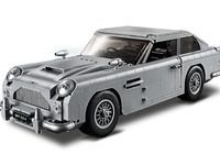 Aston Martin:  la voiture de James Bond en Lego