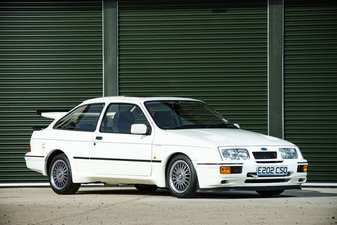 Silverstone Auctions:  Ford Sierra Cosworth RS500