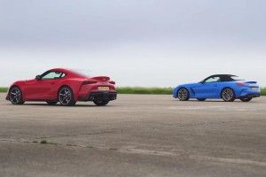 Toyota Supra vs BMW Z4 M40i:  la course !