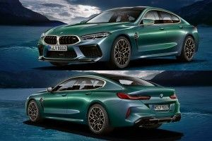 BMW M8 Gran Coupé (2020):  la First Edition