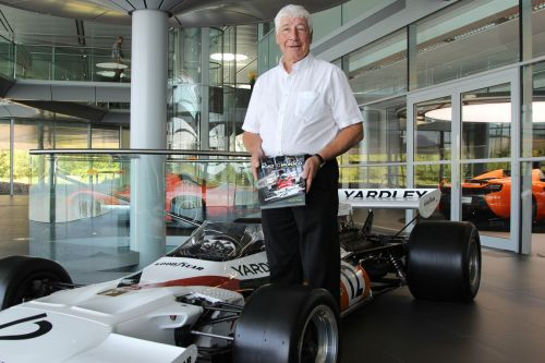 A birthday salute to McLaren's third-ever employee