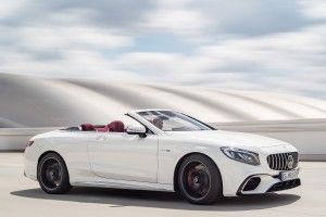 Mercedes-AMG Classe S Cab' (2017): 612 ch d'office