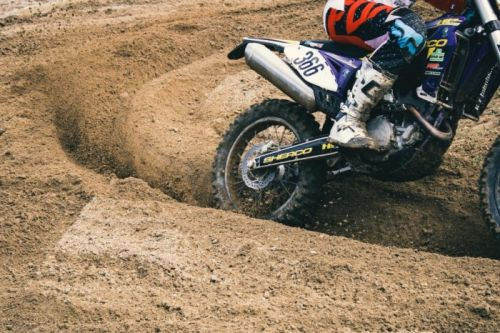 Le Bib Mousse de Michelin, star du moto cross et de l'enduro