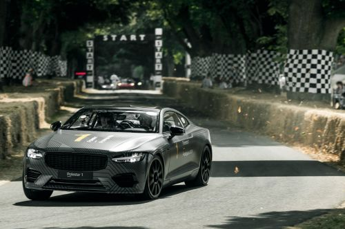 Polestar 1:  elle roule à Goodwood !