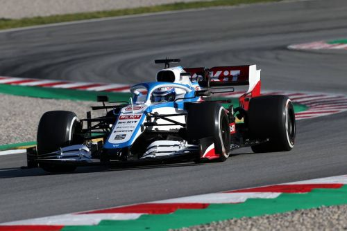 Williams' Latifi signs off with 160-lap productive day