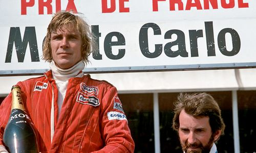 """James Hunt, F1's """"most charismatic personality ever"""""""