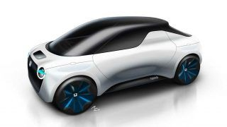 Honda Tomo Concept, le pick-up électrique par IED