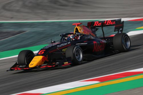 Red Bull reveals F2 and F3 young chargers for 2021