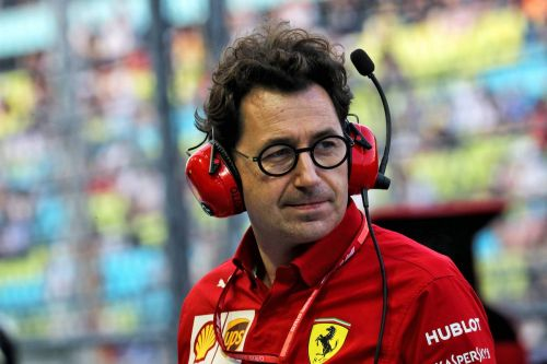 Binotto explains Ferrari's strategy on Vettel undercut