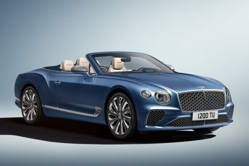Bentley Continental GT cabriolet (2020): la version Mulliner