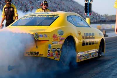 Dragster - Jeg Coughlin Jr. s'illustre encore lors des qualifications