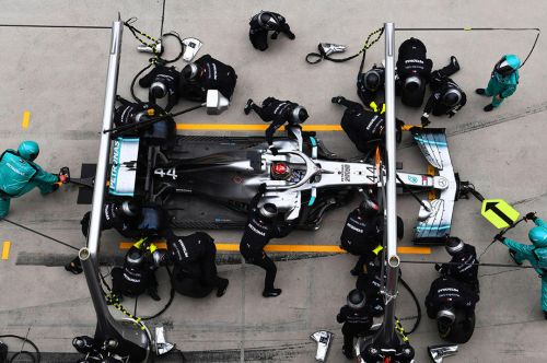 Mercedes: Double-stack pit stop hard to practice but 'useful tool'