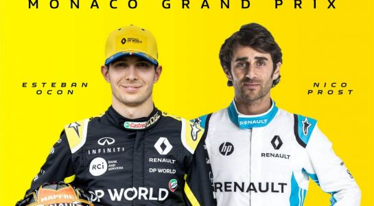 Ocon and Prost hit the virtual streets of Monaco!