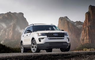 New York 2017, 2018 Ford Explorer
