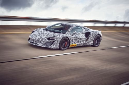 McLaren supercar hybride (2021):  on connaît son nom !