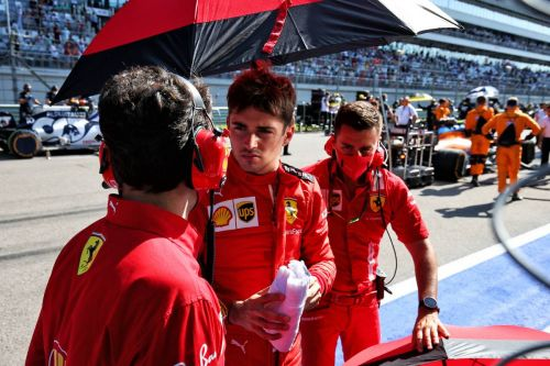 Leclerc says Ferrari made 'a good step forward' at Sochi