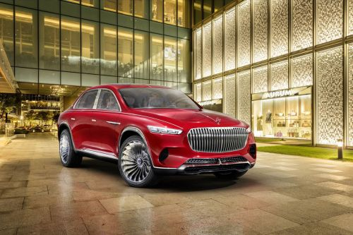 Vision Mercedes-Maybach Ultimate Luxury concept:  ultime SUV de luxe ?