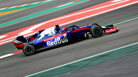 Toro Rosso STR14 'to my liking' says fast-paced Kvyat