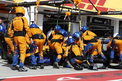 Norris awed by 'insane' scale of McLaren operation