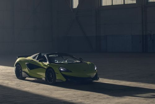 McLaren 600 LT Spider:  le grand air sur circuit
