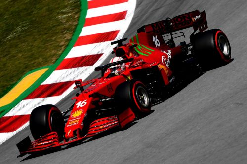 Leclerc says 'not realistic' to expect podium in Spanish GP
