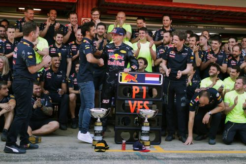 Verstappen 'getting old' - unaware of 100 mark with Red Bull