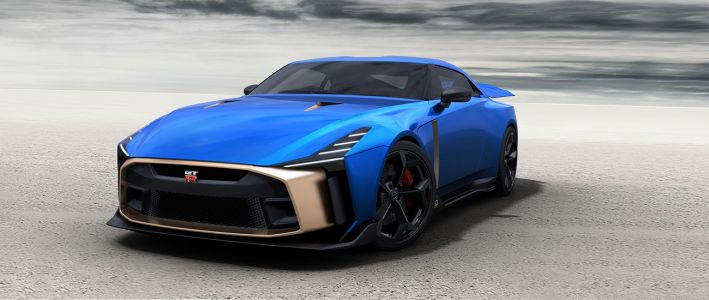 Présentation du design de production de la Nissan GT-R50, par Italdesign