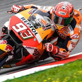 Márquez s'offre sa 70e pole position au Red Bull Ring