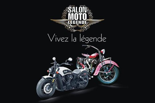 Le Salon Moto Légende ce week-end à Paris